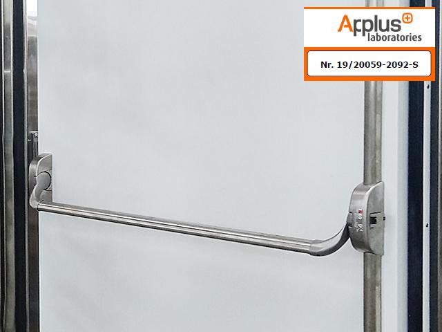 Certificación Ei2-90 para el nuevo modelo de puerta Pivotante Cortafuegos Frigorífica